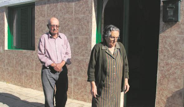 desahucio por la iglesia Lanzarote 2013