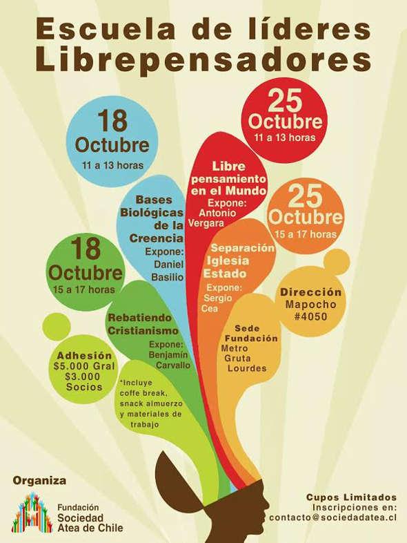 actividades librepensadores Chile