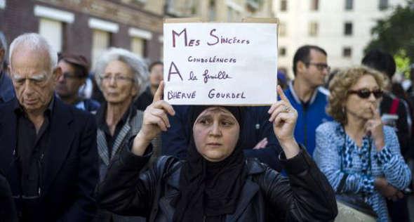 musulmanes Francia contra Estado Islámico