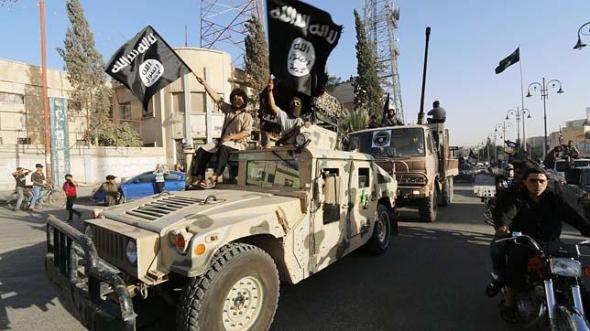 milicianos Estado Islámico