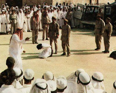 decapitar en Arabia Saudí