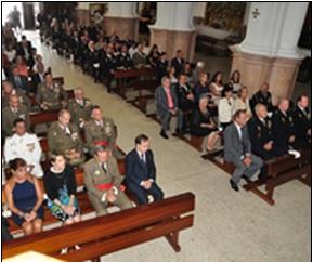misa Día de la policía  Ceuta 2014