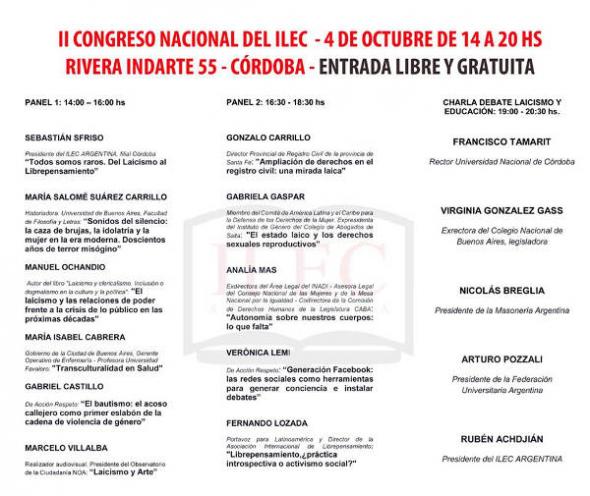 II Congreso ILEC Argentina