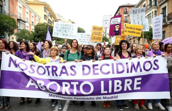 mani aborto libre Madrid sep 2014