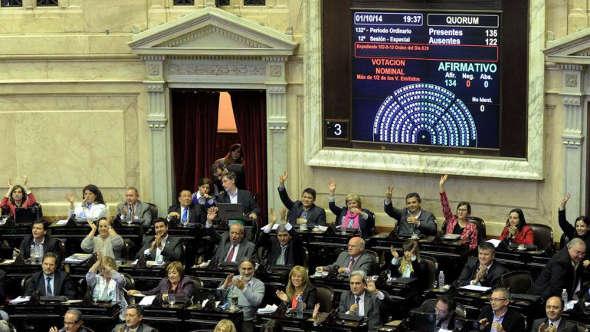 diputados Argentina votan nuevo Código Civil 2014