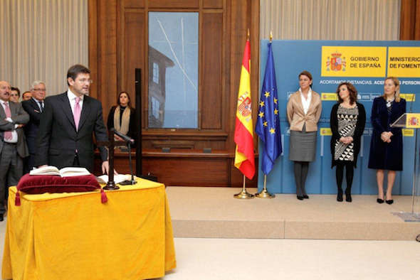Rafael Catalá toma posesión ministro Justicia 2014