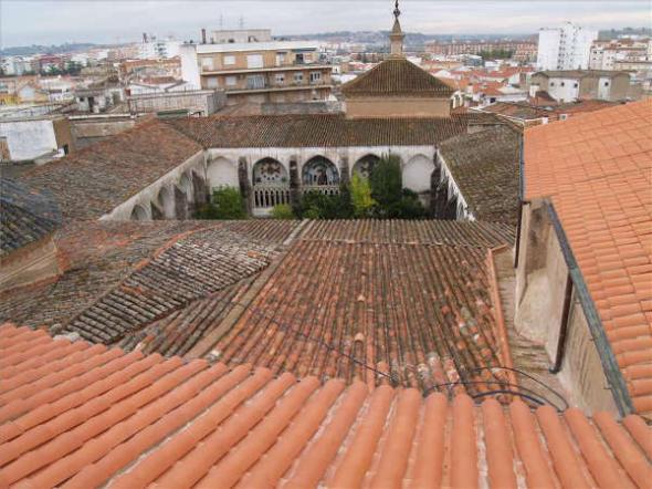 cubiertas catedral Badajoz 2014