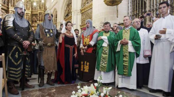 acto autoridades misa catedral Burgos 2014