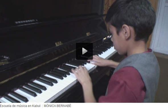Escuela música Kabul 2014