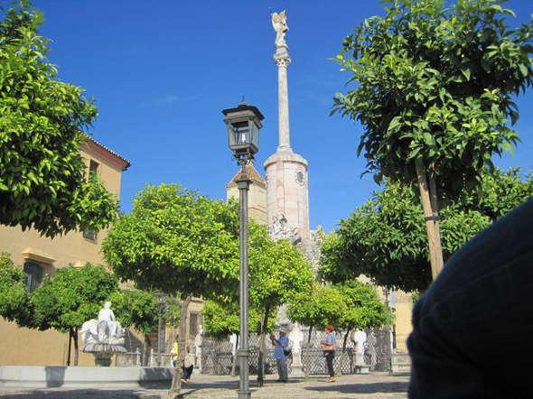 Plaza San Rafael en Córdoba inmatriculada
