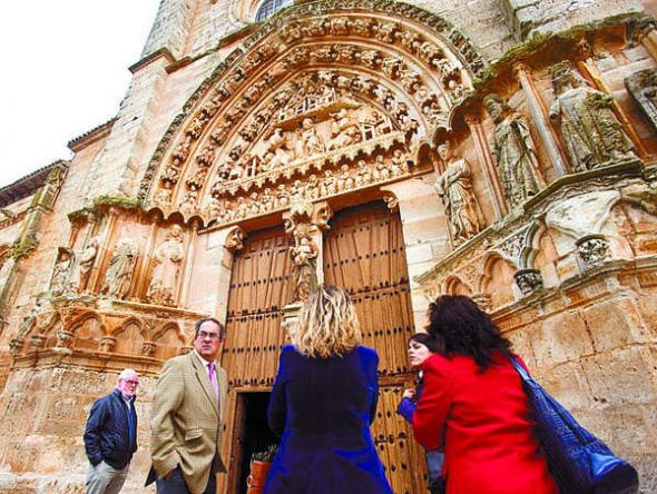Colegiata de Samamón en Burgos