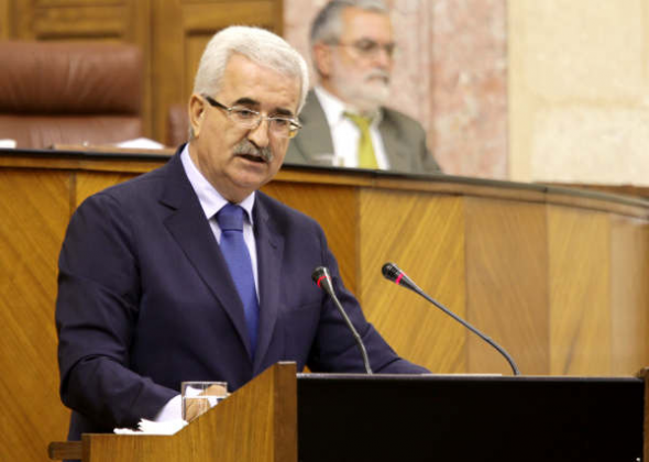 consejero Presidencia Junta Andalucía Manuel Jiménez Barrios