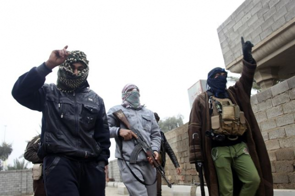 milicia del Estado Islámico 2014