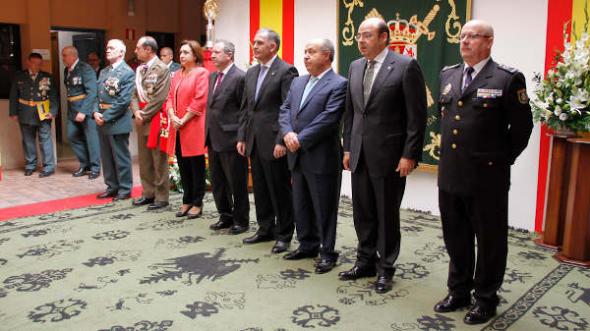 Virgen del Pilar acto Guardia Civil Granada 2014