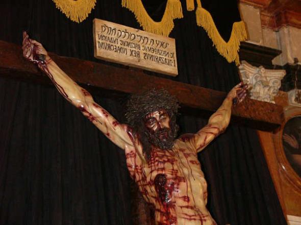 Cristo de la Universidad Córdoba