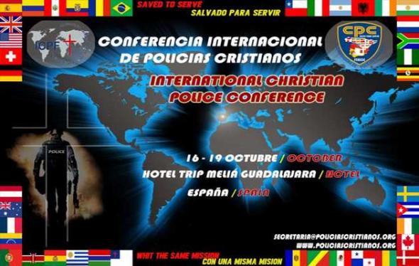Cartel de la Conferencia Internacional de Policías Cristianos