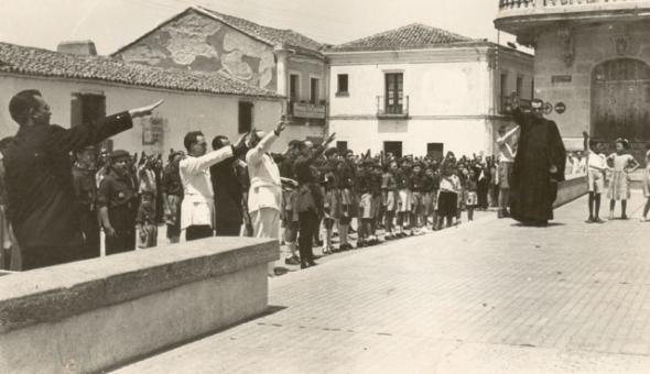 Día de los Caídos en Castuera 1940