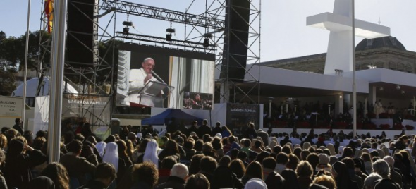 Bergoglio mensaje familia