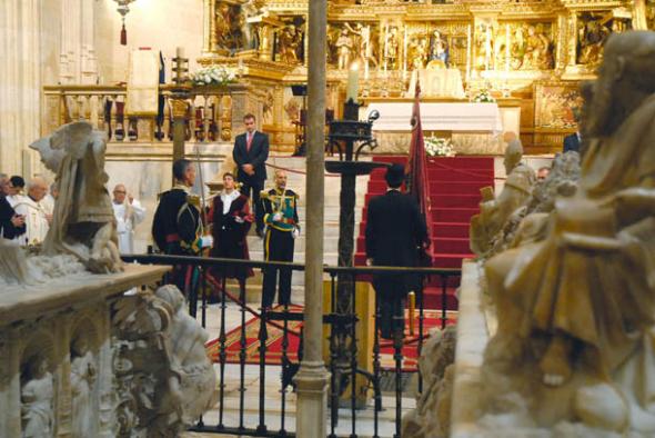 Dia Hispanidad Granada 2014 altar