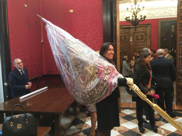 Dia Hispanidad Granada 2014 pendón