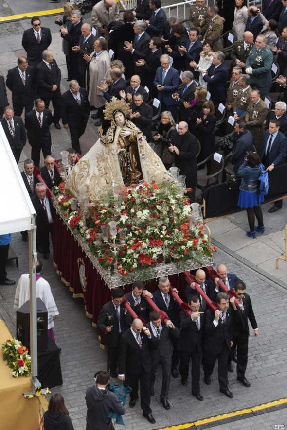 Misa Santa Teresa Ávila ministro Interior 2014