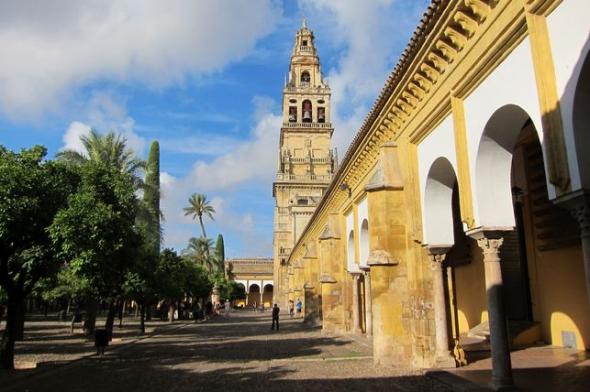 Mezquita Córdoba patio Naranjos