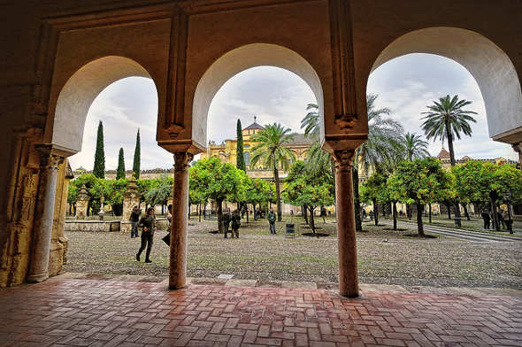 Patio de los Naranjos Mezquita Córdoba