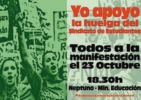 movilizaciones Marea Verde oct 2014