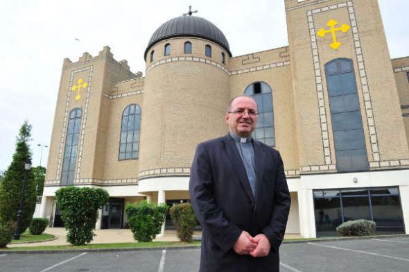 iglesia cristiana caldea Sarcelles Francia 2014