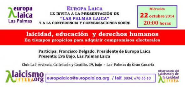 Acto Las Palmas Laica