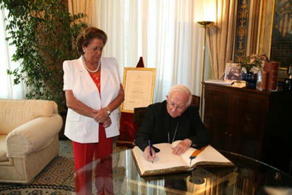 Rita Barberá y Antonio Cañizares 2014