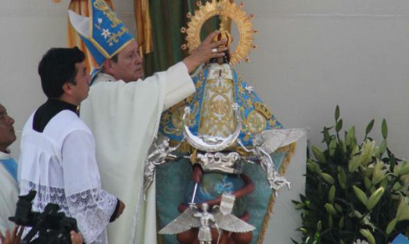 Coronación virge Juquila en Oaxaca México 2014