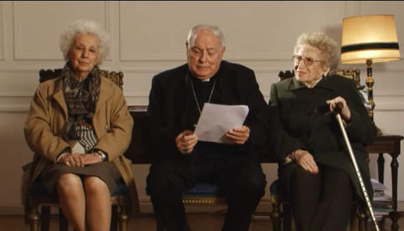 abuelas de mayo y obispo Arancedo