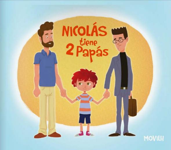Nicolás tiene 2 papas 01