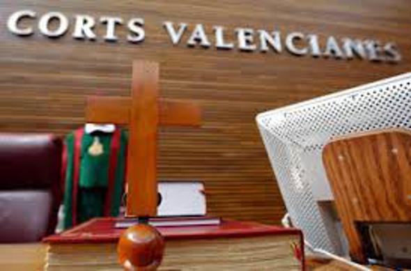 crucifijo Cortes Valencianas