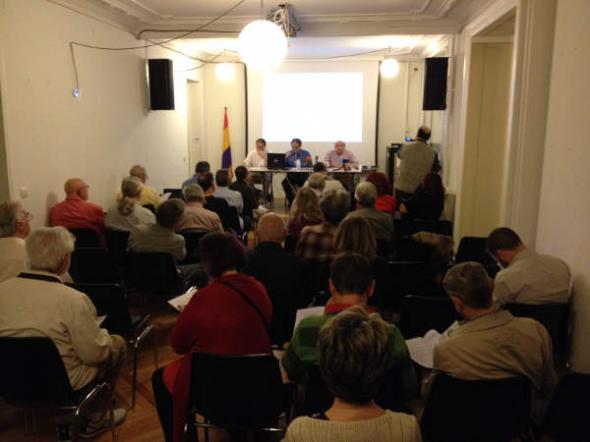 Presentación Compromiso electoral 2015 Madrid