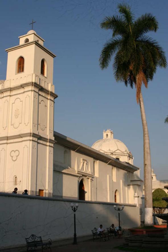 Iglesia de Ahuachapan El Salvador