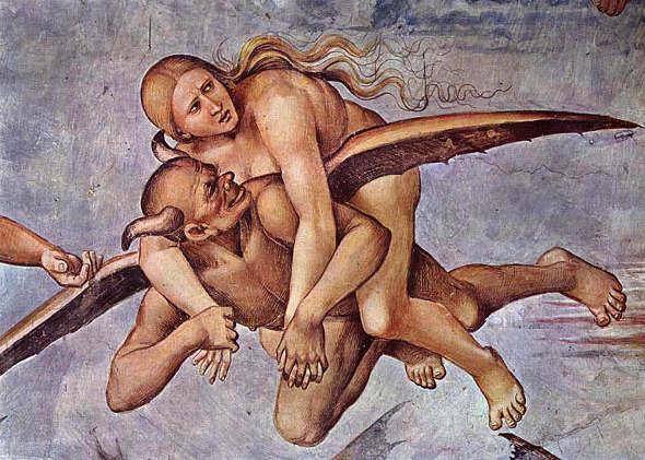 Diablo en la capilla Sixtina