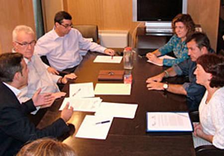 reunión inmatriculaciones en Congreso con IU 2014