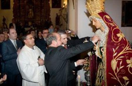 Medalla de oro Virgen de la Misericordia Granada 2007
