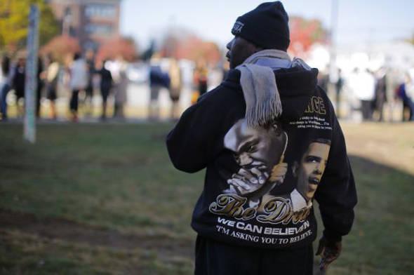Sudadera con Obama y Luther King