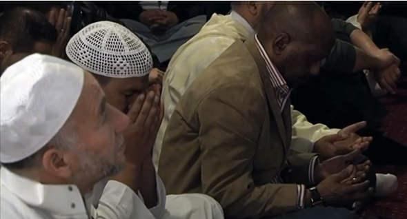 rezo mezquita Getafe