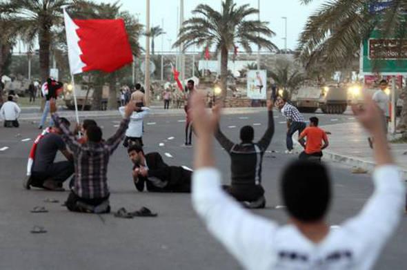represión en Bahrein 2014