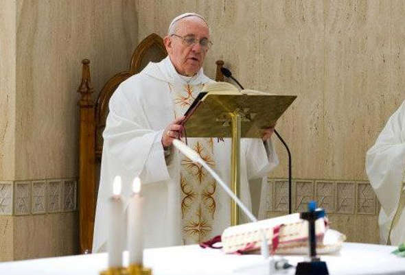 Bergoglio misa Santa Marta