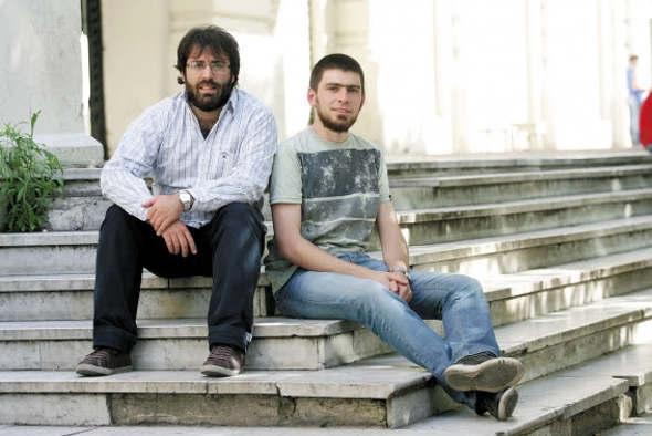 Lucas Bilbao y Ariel Lede Argentina