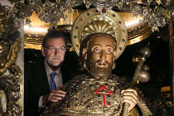 Rajoy con Santiago Apóstol