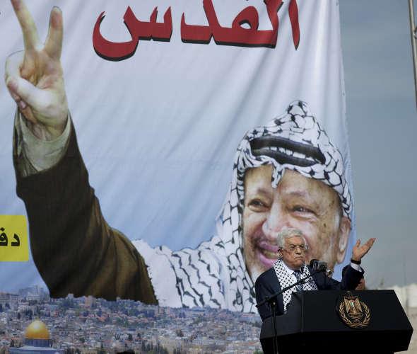 presidente palestino Mahmoud Abás