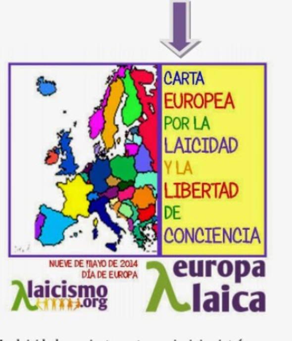 Carta europea por la laicidad 2014