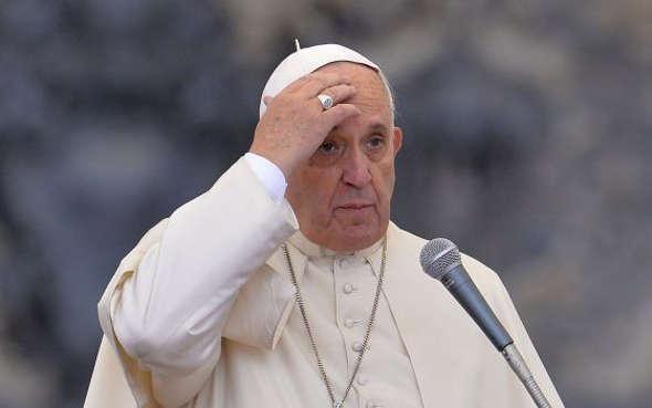 Bergoglio preocupado