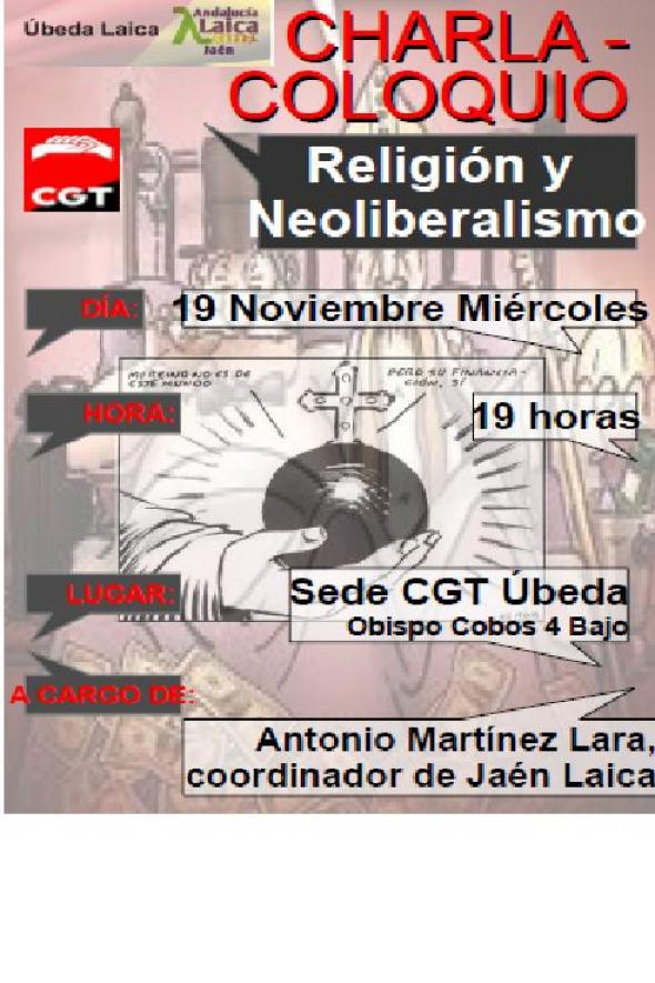 cartel charla Ubeda 2014